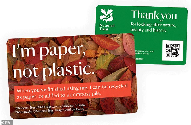 National Trust ditches plastic membership cards