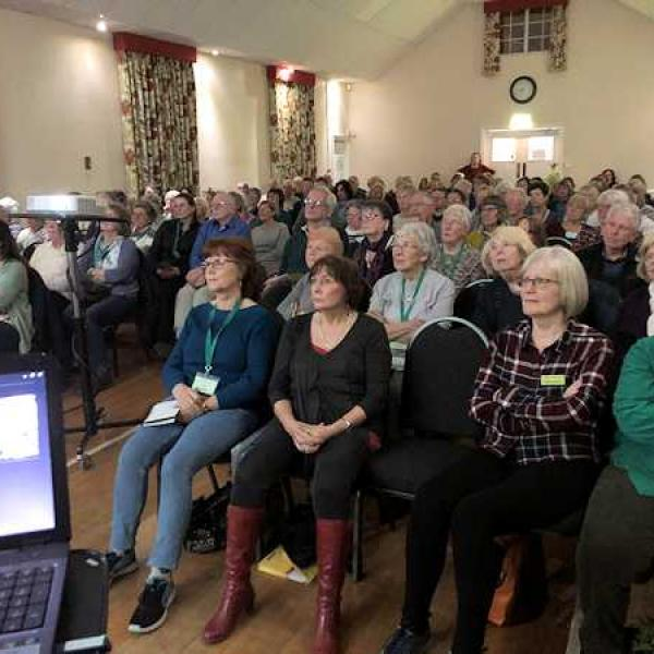 Howard Visits Hardy Plant Society Lecture North East Group