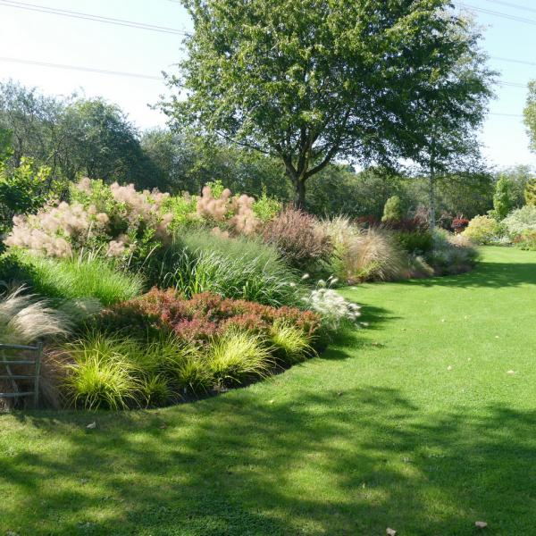 The Grass Border in John Massey's Garden